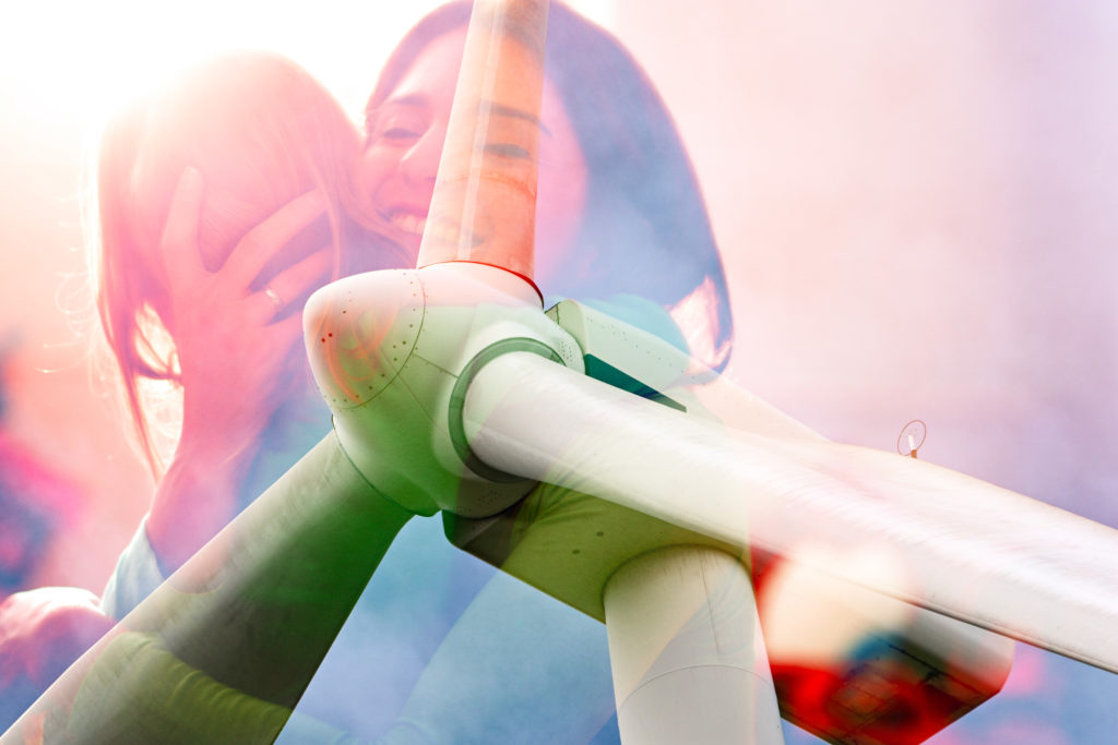 A roadshow introducing new Wind Park projects, SOLER